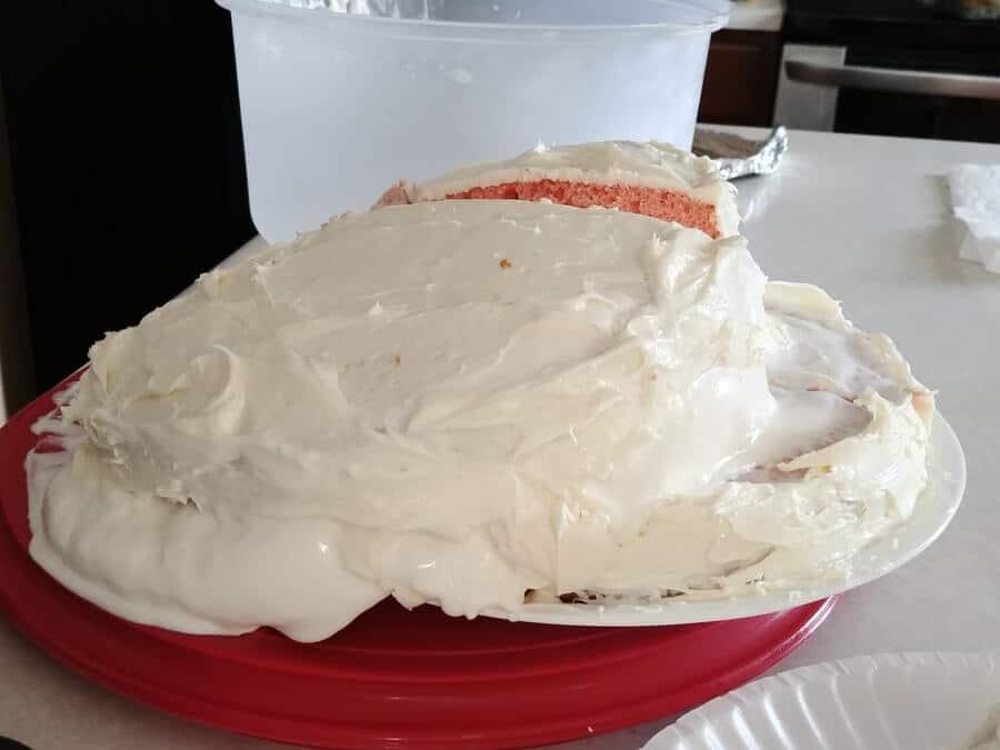 Falling Ice Cream Cake