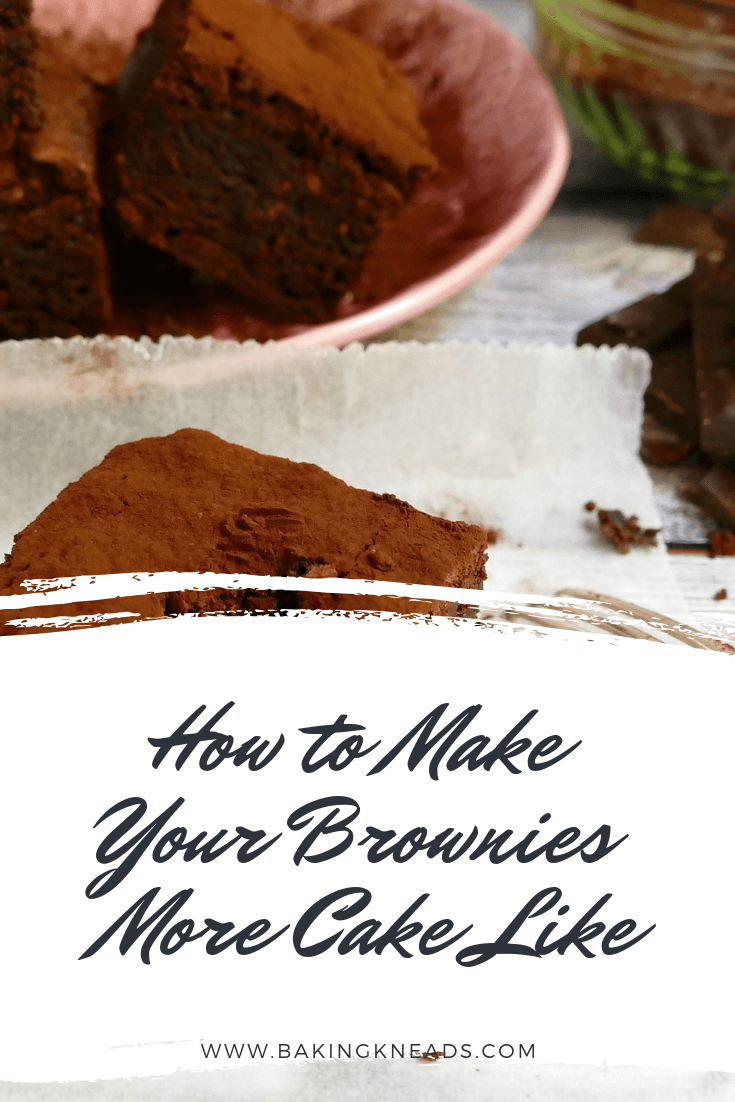 How to Make Your Brownies More Cake Like