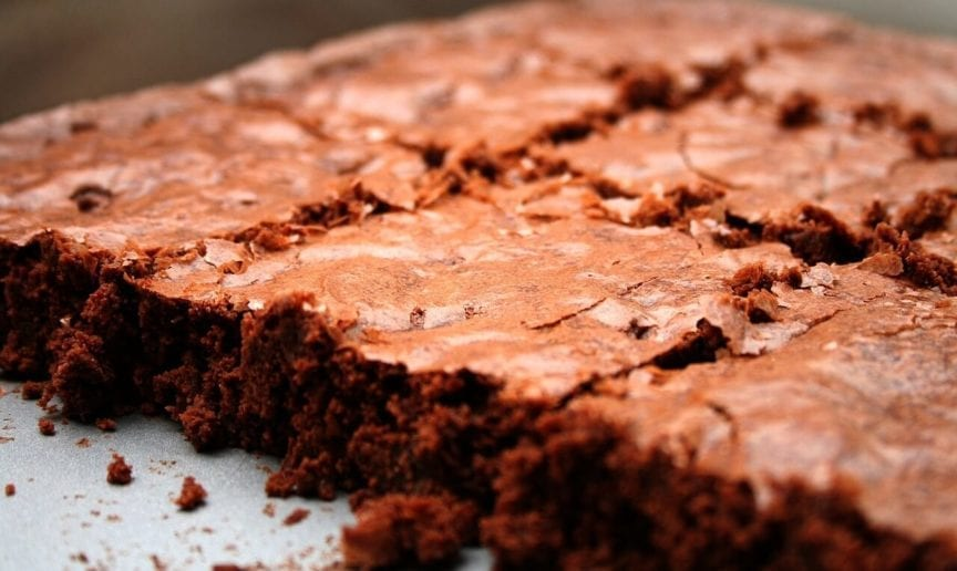 Brownies Without Eggs, Oil, Cocoa, or Sugar