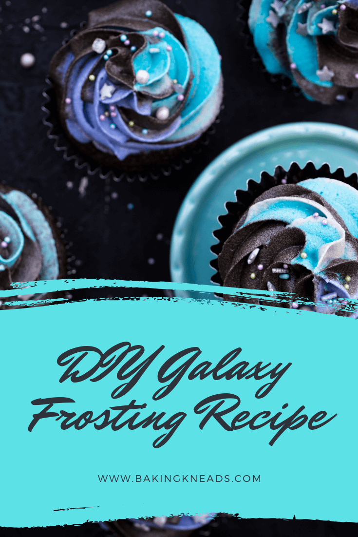 DIY Galaxy Frosting Recipe