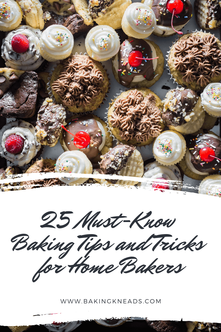 25 Must-Know Baking Tips and Tricks for Home Bakers