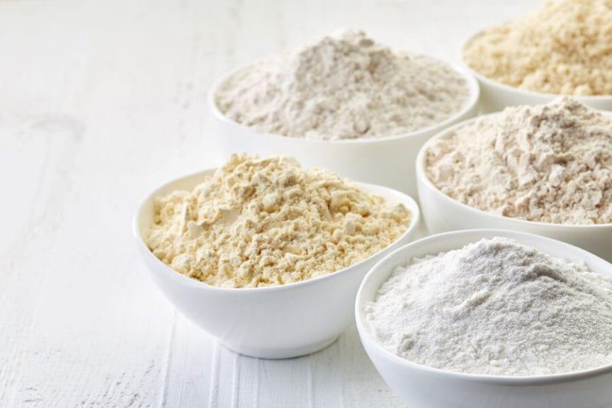 Bowls of Flour
