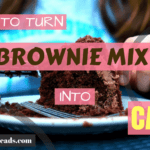 Brownie Mix into Cake