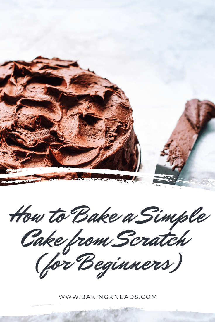 How to Bake a Simple Cake from Scratch (for Beginners)