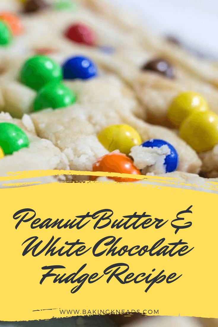 Peanut Butter & White Chocolate Fudge Recipe