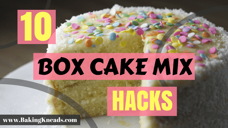 Box Cake Mix Hacks