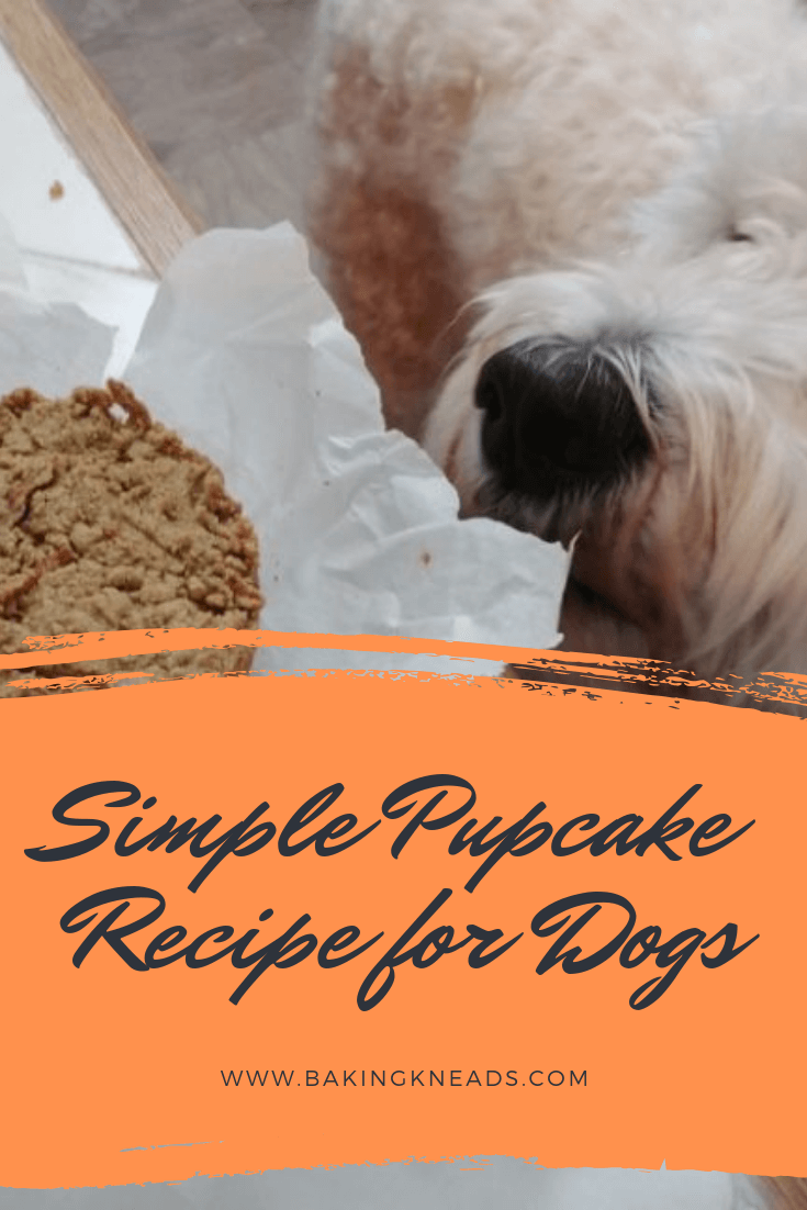 Simple Pupcake Recipe for Dogs