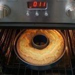 Bundt Cake in Oven