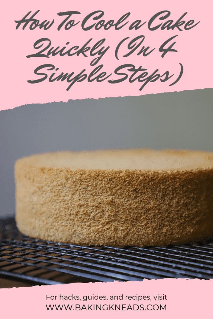 How To Cool a Cake Quickly (In 4 Simple Steps)