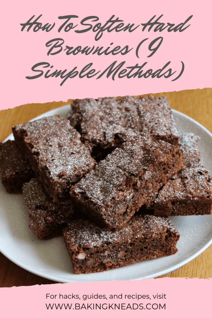 How To Soften Hard Brownies (9 Simple Methods)