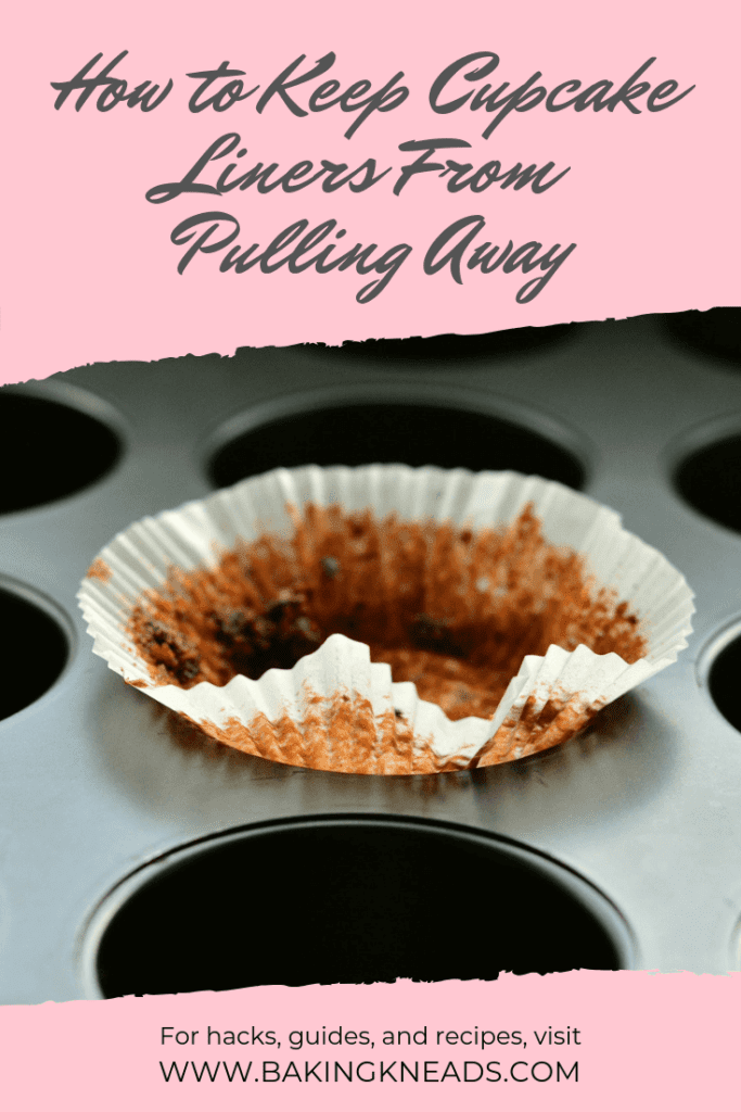 How to Keep Cupcake Liners From Pulling Away