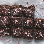Brownies with Candy Topping