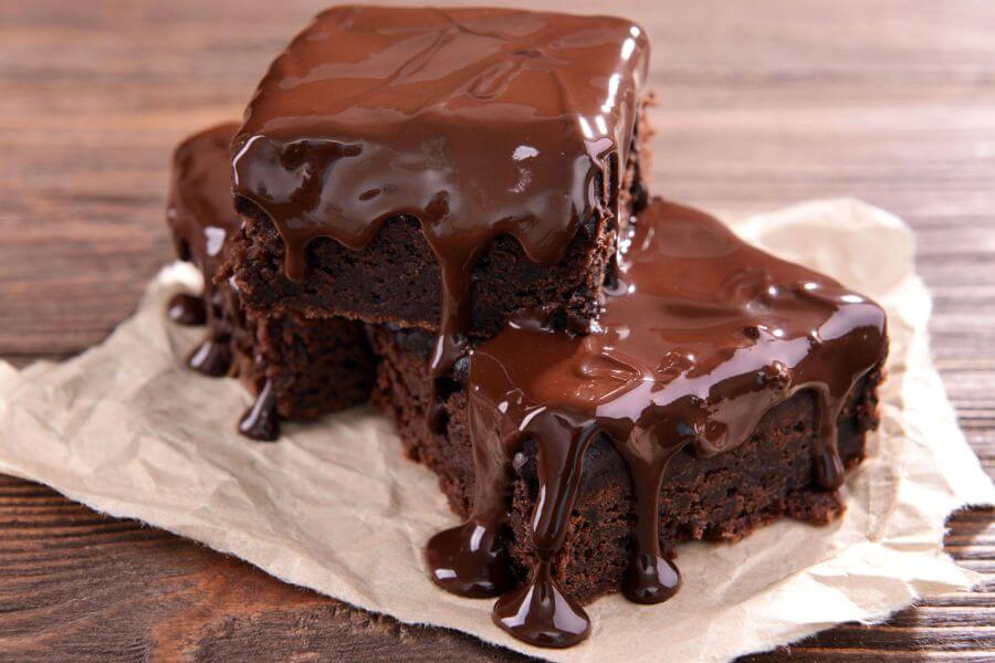 Chocolate Covered Brownies