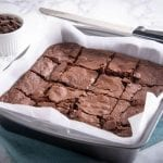 Cut Brownies in a Pan