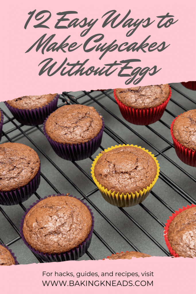 12 Easy Ways to Make Cupcakes Without Eggs (Using Household Ingredients)