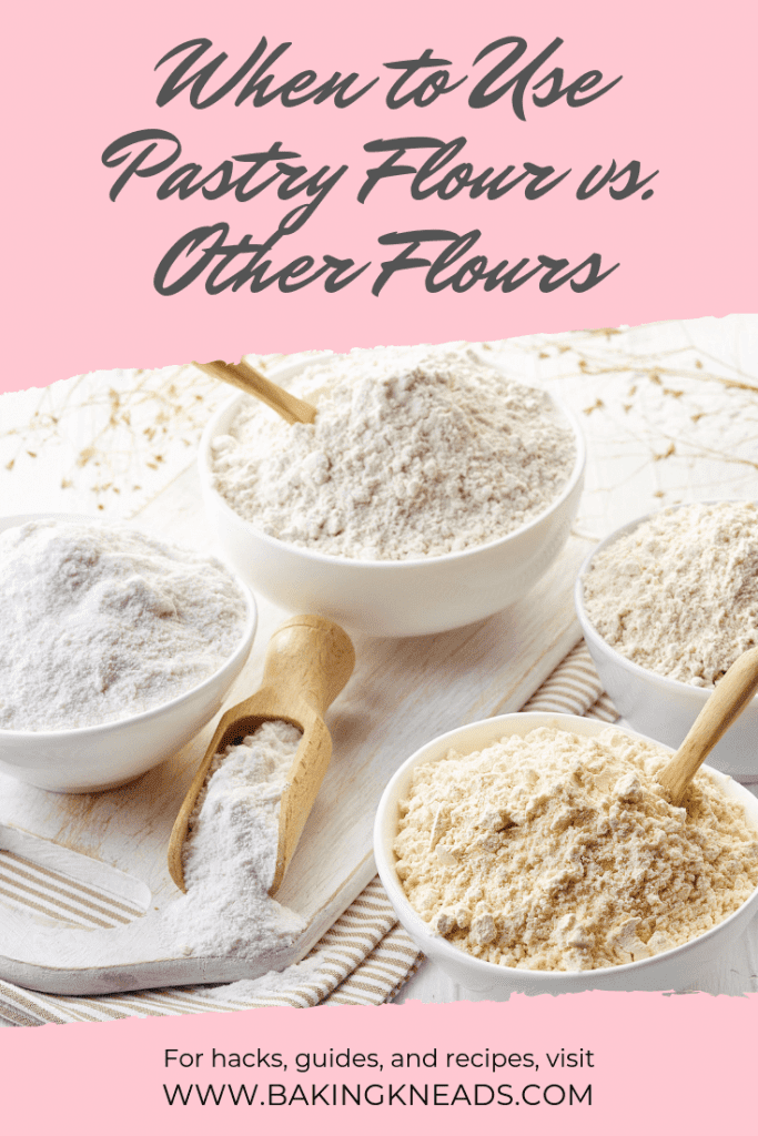 When to Use Pastry Flour (And How it Differs from Other Flours)