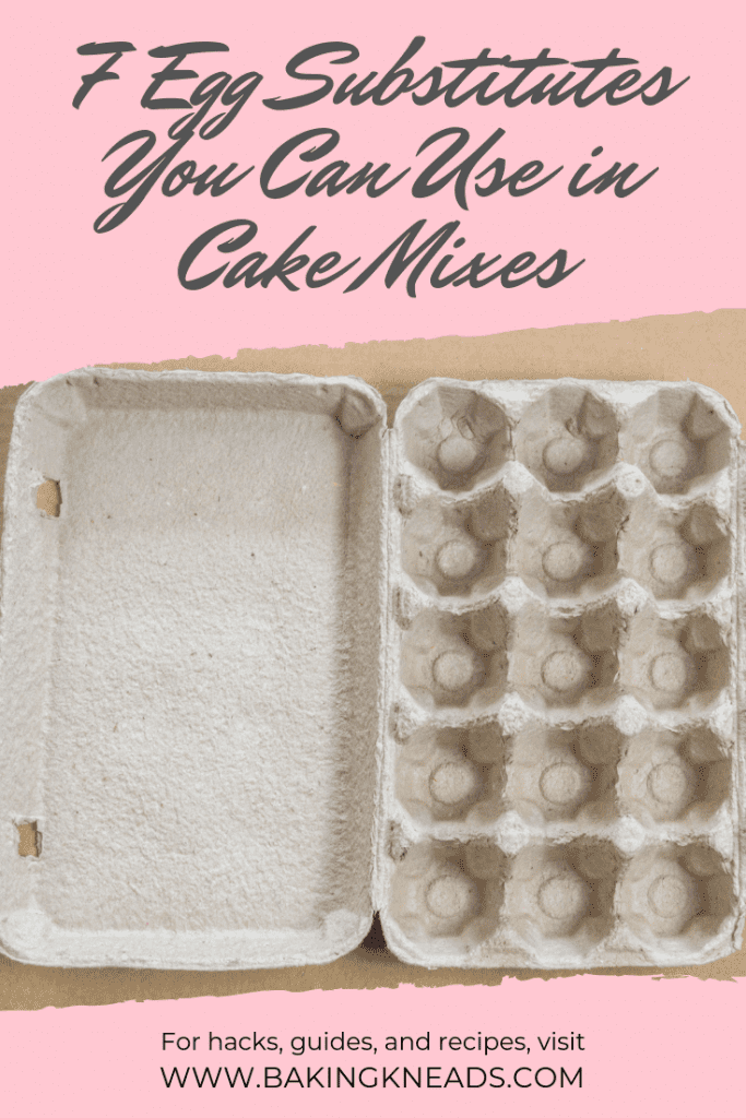 Egg Substitutes You Can Use in Cake Mixes