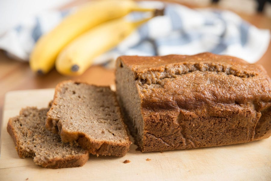 Banana Bread on the counter