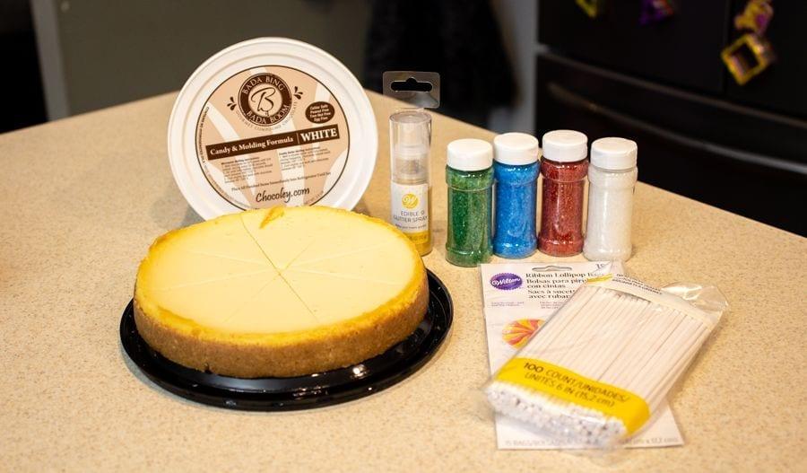 Cheesecake Pop Ingredients
