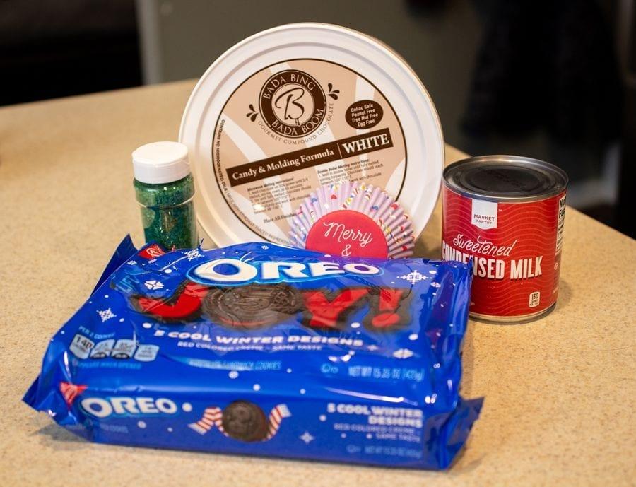 Cookies and cream fudge ingredients