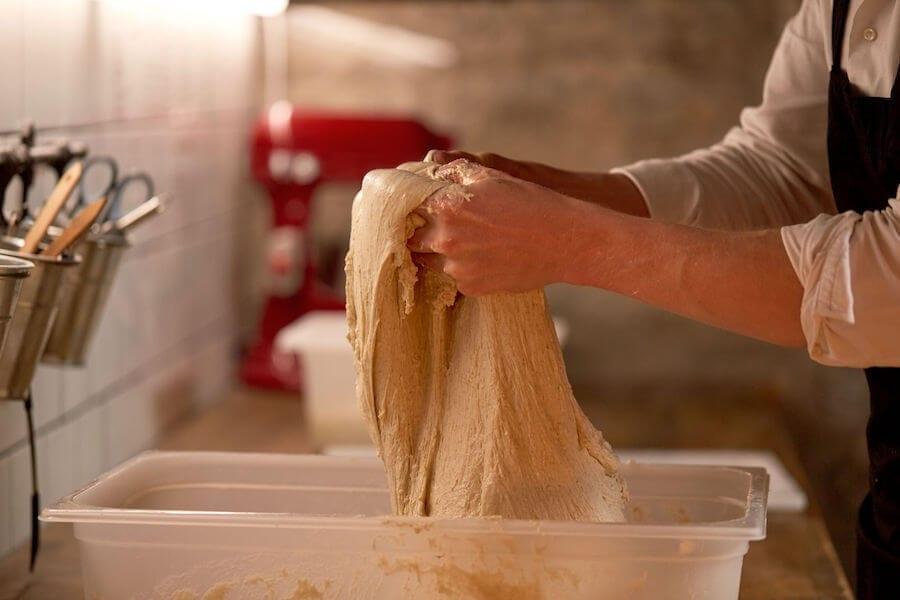 Sticky Bread Dough