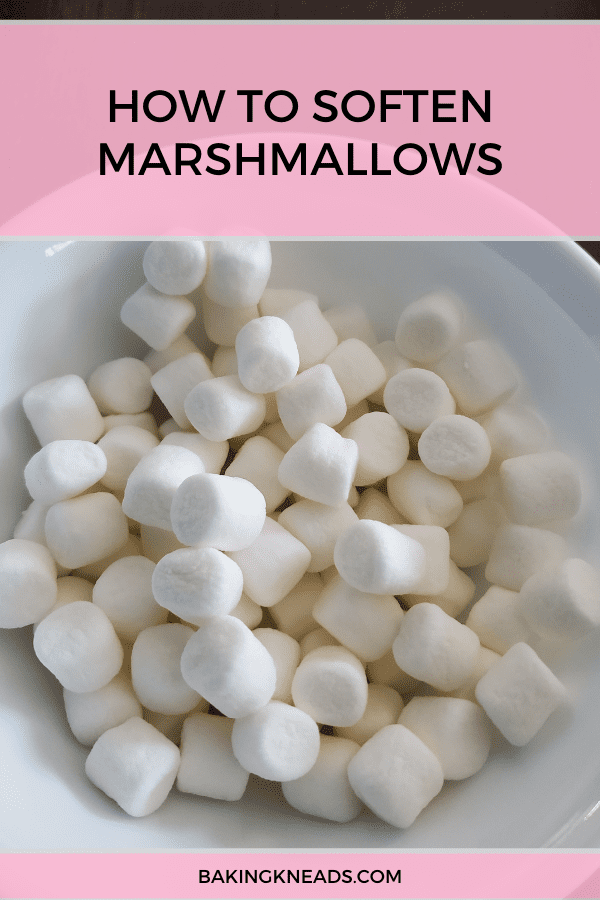 How to Soften Marshmallows (Instead of Throwing Them Away)