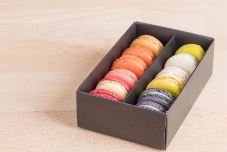 Macarons in Box