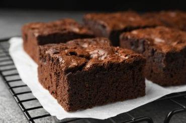 Brownies Cooling