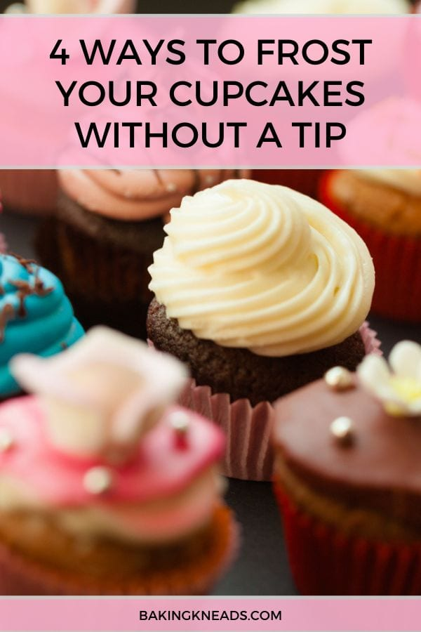 How to Frost Cupcakes Without a Tip Pin