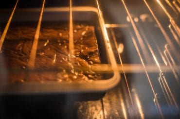 Brownies in Oven