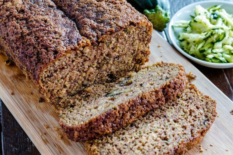 Fresh Baked Zucchini and Cinnamon Bread