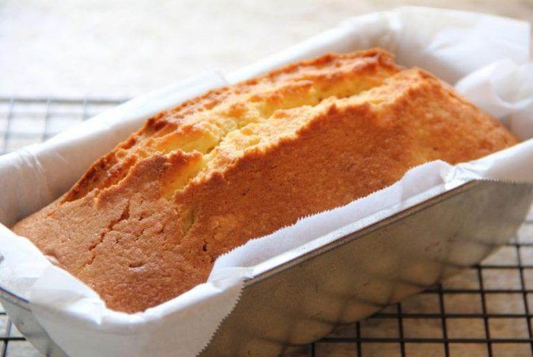 Pound Cake in Pan