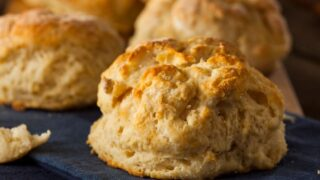 Homemade Flaky Buttermilk Biscuits